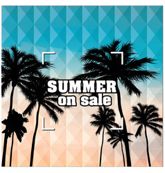 Summer on sale beach focus background image vector