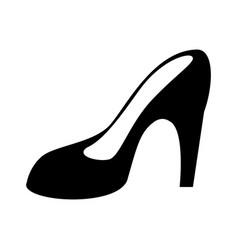 Women day high heel shoes pictogram vector