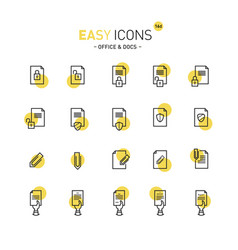 Easy icons 16d docs vector