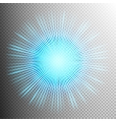 Glow light effect EPS 10 vector image vector image
