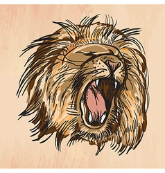 Lion - An hand drawn vector image