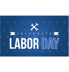 Style art labor day background vector