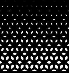 Halftone pattern vertical falling shapes morphing vector