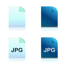 Pattern for file managers icon vector image vector image