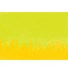 Yellow City Grunge vector image vector image
