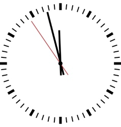 Clock isolated vector