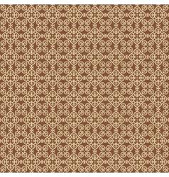 Arabesque gold pattern vector