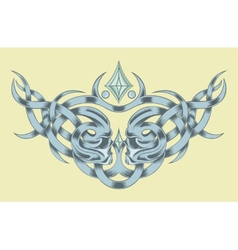 Drawing for a tattoo vector image vector image