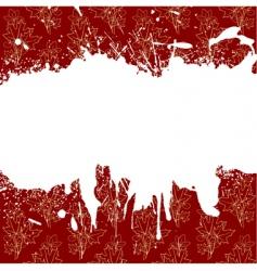 ornament blots vector image