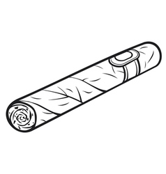 cuban cigar vector image