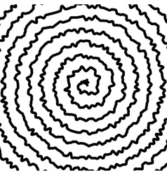 Spiral background vector