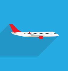 Aircraft flat vector