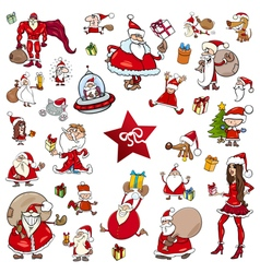 Christmas theme cartoons vector