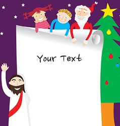 Template christmas3 vector