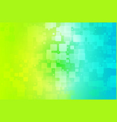 Yellow teal blue green shades glowing various vector