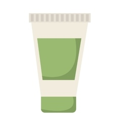 Cream bottle spa product icon vector