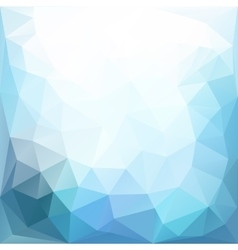 Colored triangle abstract vector