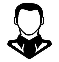 Businessman icon call centar3 vector image