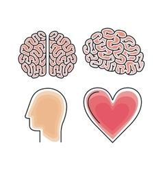 brain storm design vector image