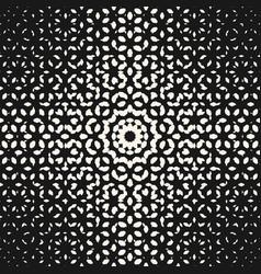 halftone pattern texture circular form vector image vector image