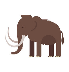 prehistoric animal vector image