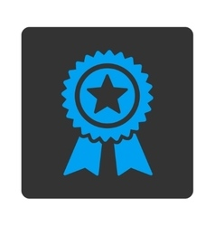 Guarantee icon from award buttons overcolor set vector