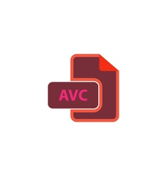 Avc icon vector