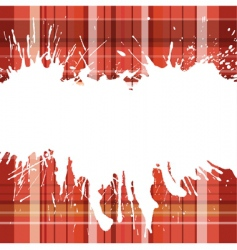 checked back wirh blots vector image vector image
