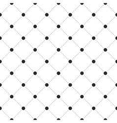 Black veil seamless pattern on white background vector