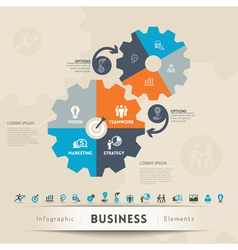 Business Concept Graphic Element vector image