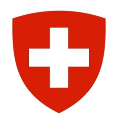 coat of arms of Switzerland vector image vector image