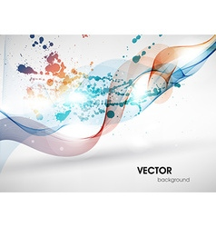 Soft Colored Abstract Background vector image