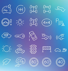 Clean icons set vector