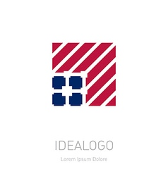 Company logo design elements Abstract logotype vector image vector image