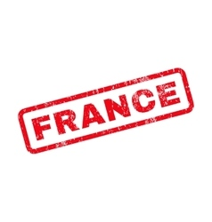 France text rubber stamp vector