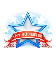 USA Independence Day Background vector image