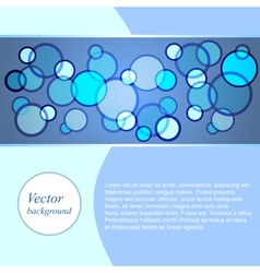 Light abstract background vector