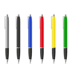 fountain pen 01 vector image vector image