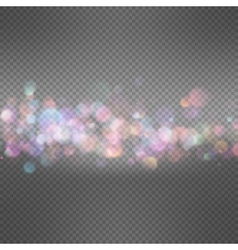 Soft bokeh and lights template EPS 10 vector image vector image
