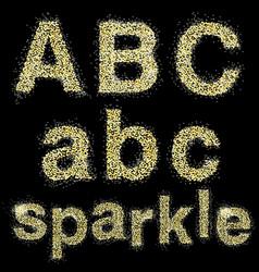 Sparkle vector
