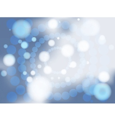 Abstract blue soft focus background vector