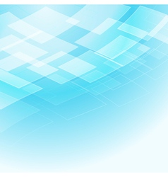 Blue light rhombus background vector