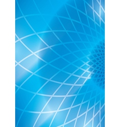 Blue abstract background with grid vector