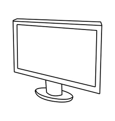 Electronic device screen graphic vector