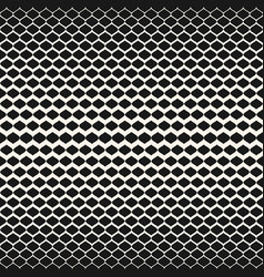 halftone seamless pattern mesh texture with vector image vector image