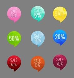 Icon sale vector