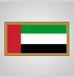 United arab emirates flag vector