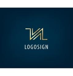 Abstract universal premium logo design creative vector