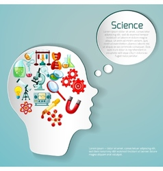 Science poster vector