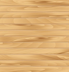 Realistic wooden background vector